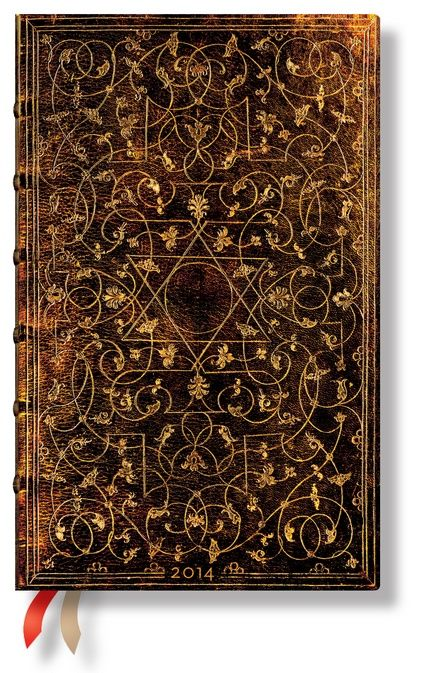 Sharing Paperblanks 2014 Maxi Grolier Diary Week to View from WHSMITH