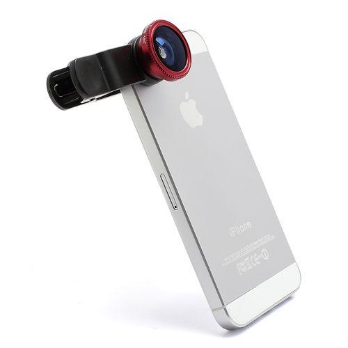 """Универсальный объектив 3-в-1 для iPhone/iPad.   Объектив  3 в 1 - это линзы рыбий глаз, широкоугольный объектив и макро-объектив для качественной и разнообразной съемки. Макро-объектив делает четкие фотографии малых объектов, широкоугольный объектив может снимать больший спектр декораций, а 180 градусов окружающей обстановки позволит охватить линзы """"рыбий"""" глаз. http://store4phone.ru/katalog/aksessuary/obektiv-3-v-1-dlya-iphone-ipad-chernyj/"""