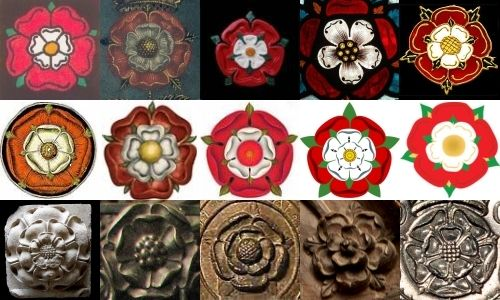 Painting a Tudor rose on a canvas as a home decor item. Hope it turns out okay!!