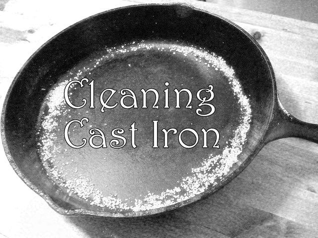 cleaning cast iron cookware cookware cleaning cast iron and cleaning. Black Bedroom Furniture Sets. Home Design Ideas