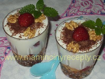 Jogurtový pohár