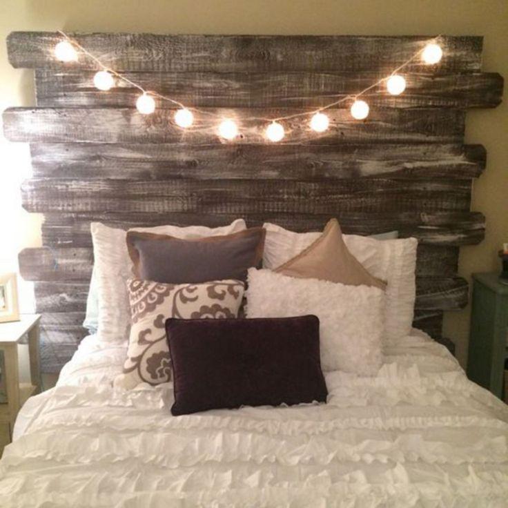 40+ Best Wood Bed Ideas For Traditional House. InneneinrichtungDiy Deko Kopfteil ...