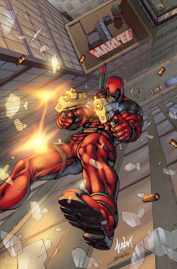 Deadpool: Alvin Lee by Nubry.deviantart.com on @deviantART