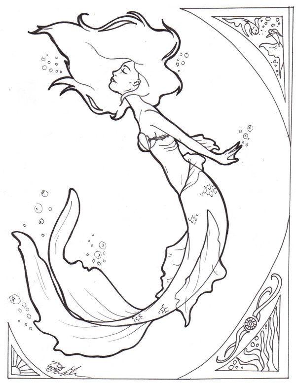 Simple Mermaid Outline