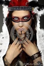 maquillaje para disfraz de guerrera