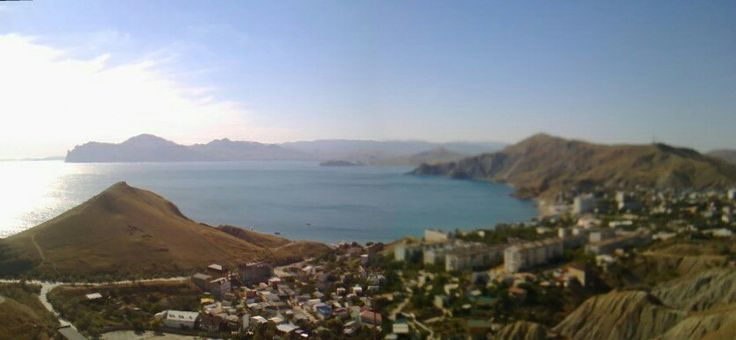 Republic of Crimea. The village of Ordzhonikidze