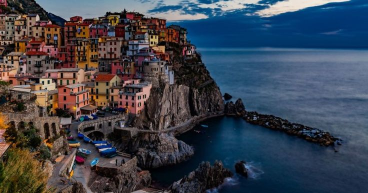 CinqueTerre - The five villages that make up this rugged, colourful and nature filled destination on the Northern coast of Italy were practically empty in winter. An Italy top destination without any crowds? You bet!