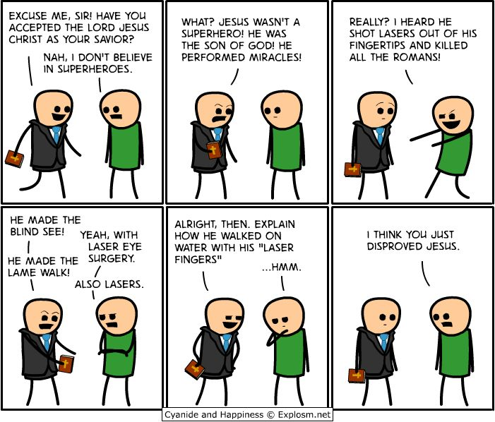 Cyanide and Jesus