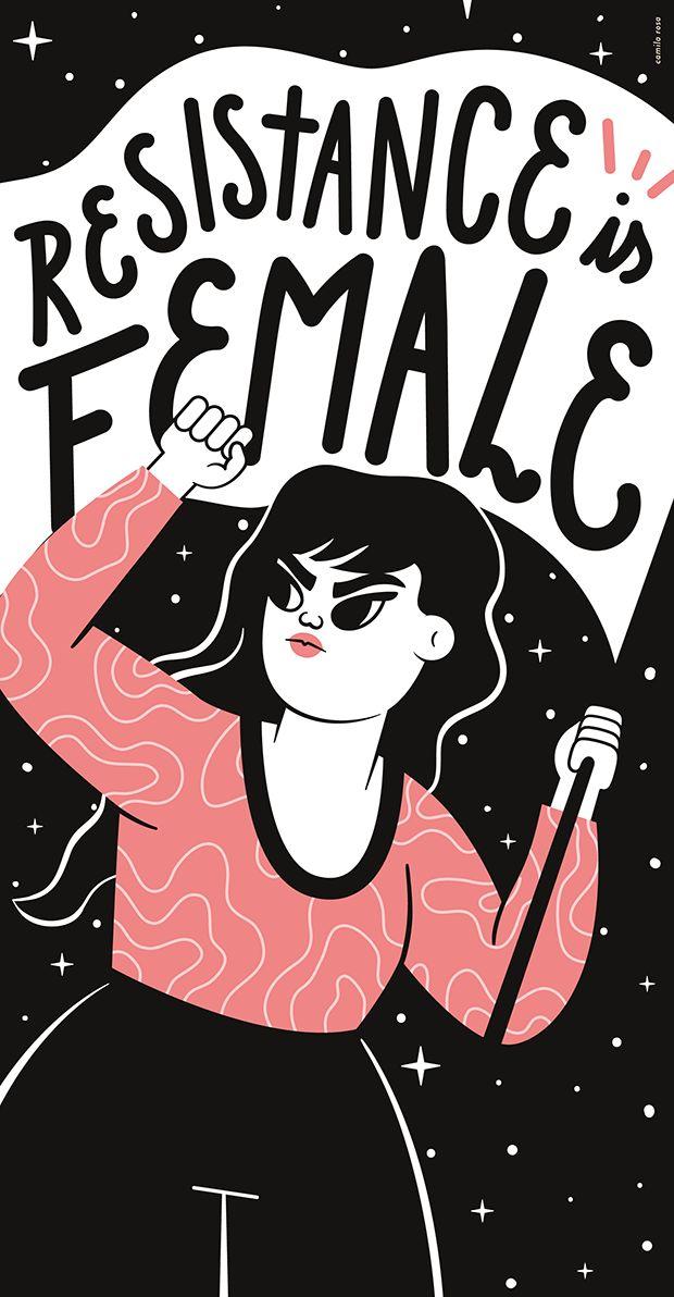 Camila Rosa transforma suas ilustrações em mensagens inspiradoras sobre amor, veganismo e universo feminino - Follow the Colours