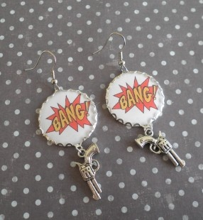 Boucles bang bang pistolet  Mimischkä