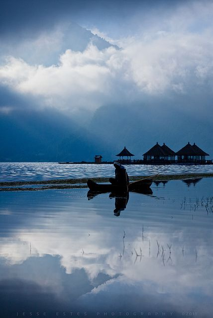 A trip to Bali to sit in the warm ocean and watch the weather change. That is a dream.   www.villabuddha.com Bali