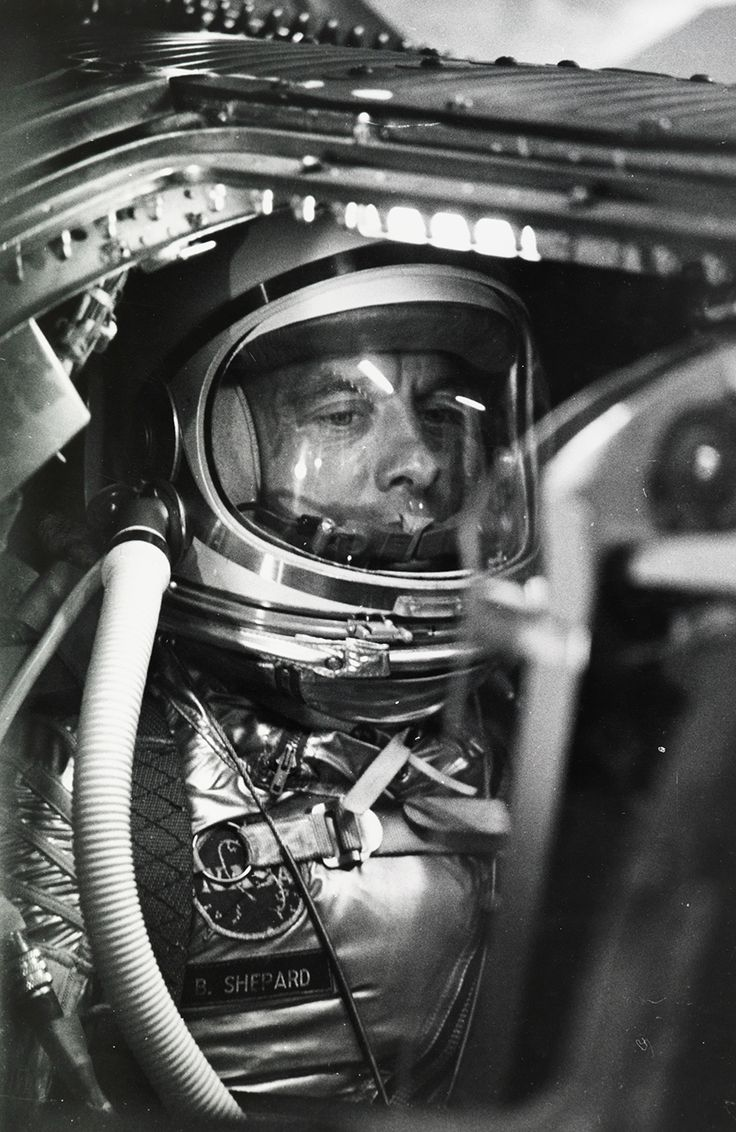 Alan #Shepard waits to become the first American in #space, Cape Canaveral, 1961. Photograph by #NASA