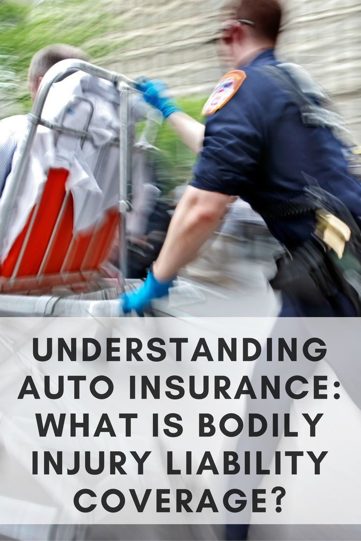 What is bodily injury liability?