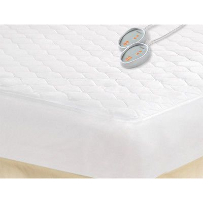 Electric Blanket Queen Sz Bed Warmer Heated Mattress Pad Sheets Slipcovers Sham