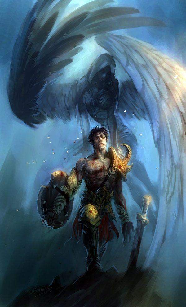 El espíritu de la valquiria, de Jian Guo | Fer | Mythology ...