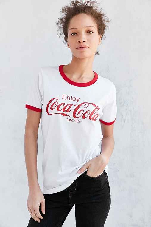 Junk Food Coca-Cola Ringer Tee - Urban Outfitters