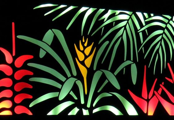 TELA FLORAL ILUMINADA COMO BACKLIGHT – Às vezes o muro ou a divisória de um terreno apertado não comportam a instalação de vasos com plantas naturais. Neste caso, conjuntos de painéis florais…