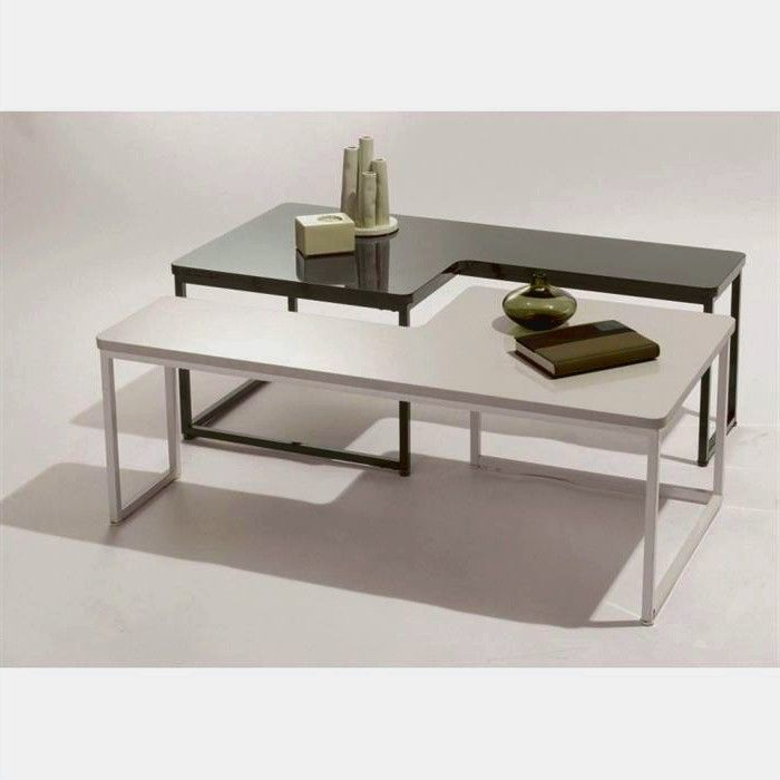 Tables Basses Modulables Tetro Table Basse Table En Verre Table