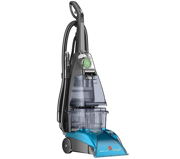 Use only ammonia and hot water to clean carpet