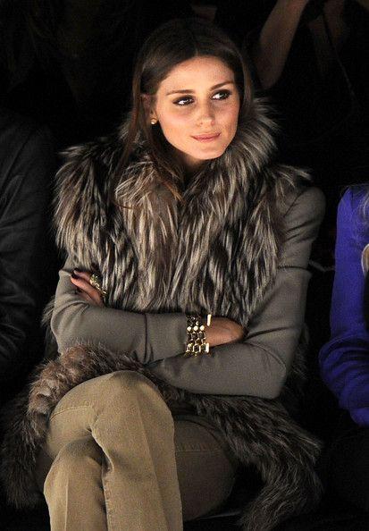 Olivia Palermo @ Rebecca Minkoff Fall 2012