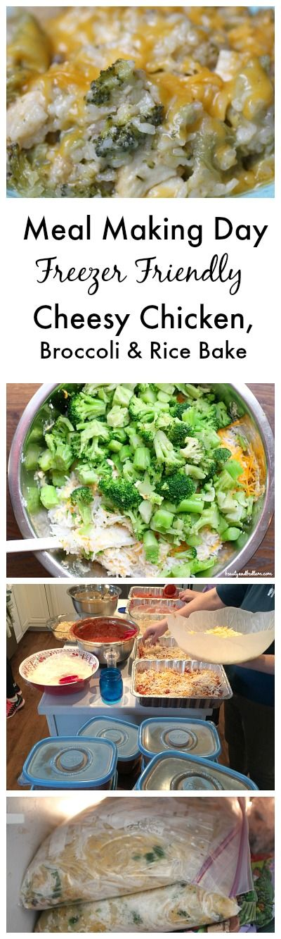 This freezer friendly favorite Chicken Broccoli Rice Casserole is such a  perfect comfort food casserole.