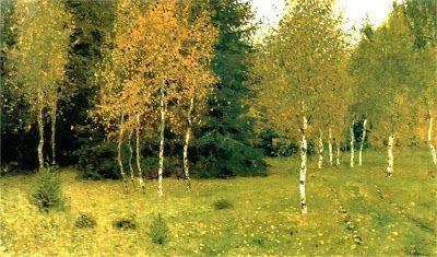 Русский пейзажист Исаак Левитан (1860-1900) ~ Блог художественного поклонника