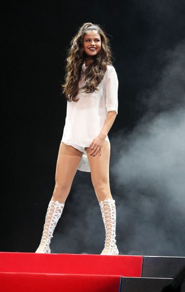 Selena Shines on Stage!The Patriot Center on October 10, 2013 in Washington, DCPhoto: Getty Editorial