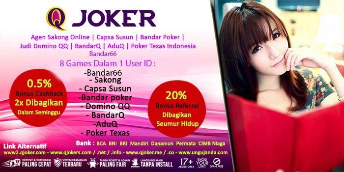 JudiBandarKiu – Hai Judi Online Lovers, kali ini kami akan membahas Panduan Bermain Poker Online QJoker.me. Bagi kalian yang masih pemula kami akan memberikan panduan lengkap untuk kalian. Jika kalian sudah penasaran. Langsung saja simak di bawah ini.  http://judibandarkiu.com/panduan-bermain-poker-online/  http://www.sakong2018.com/2018/04/panduan-bermain-poker-online-qjokerme.html