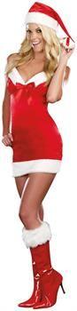 Women's Santa Costume for Christmas
