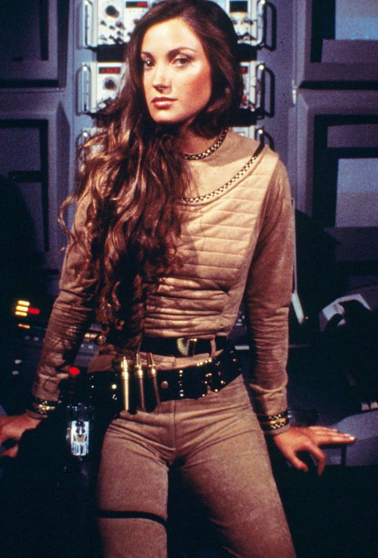 Jane Seymour BATTLESTAR GALACTICA.....I think she was my first tv crush!!