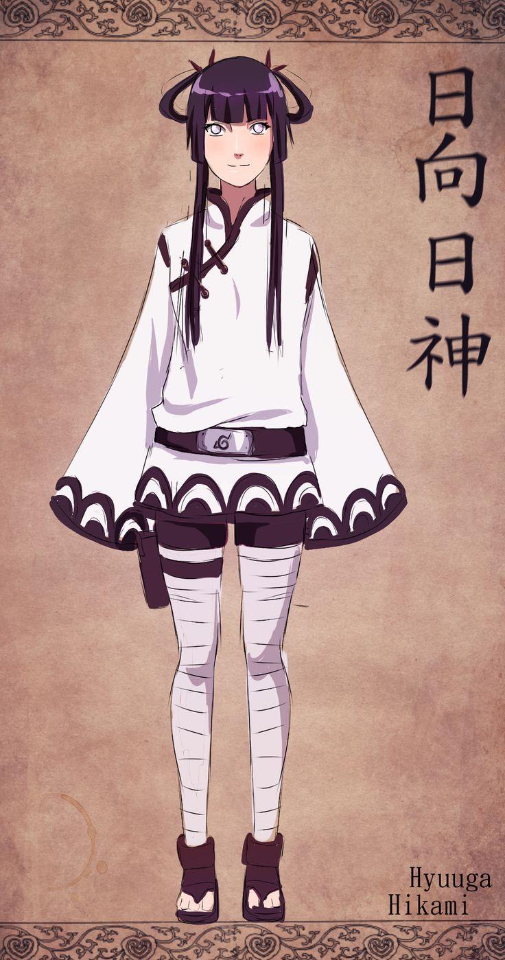 New Naruto Oc: Hyuuga Hikami (sketch) by unicornchen ...