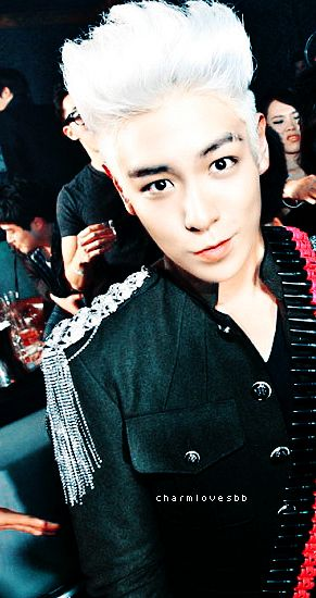 I do love T.O.P, but I feel like sometimes he has this creepy way of looking at you, as if he is gonna eat your soul, am I the only one who feels like that?! <3