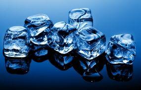 Обои Кубики льда: Лёд, Макро, Кубики, Лёд / Вода, картинки, фото.