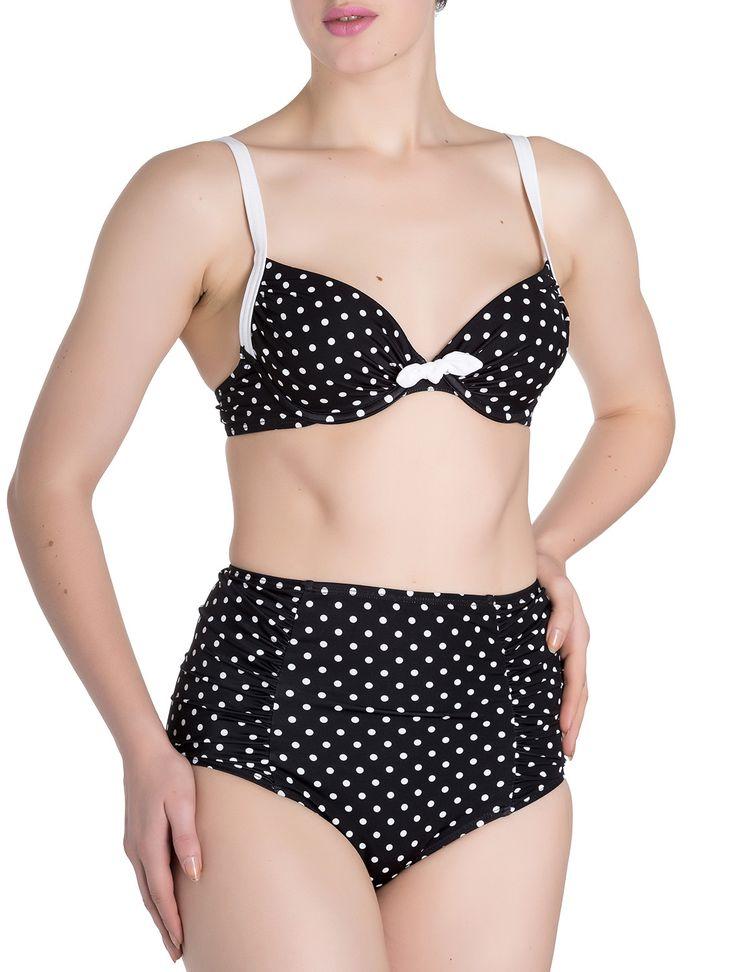 Bikini Pin Up Misty Hell Bunny  #bikini #pinup #polkadot #retro #vintage #hellbunny #swimwear #xtremonline