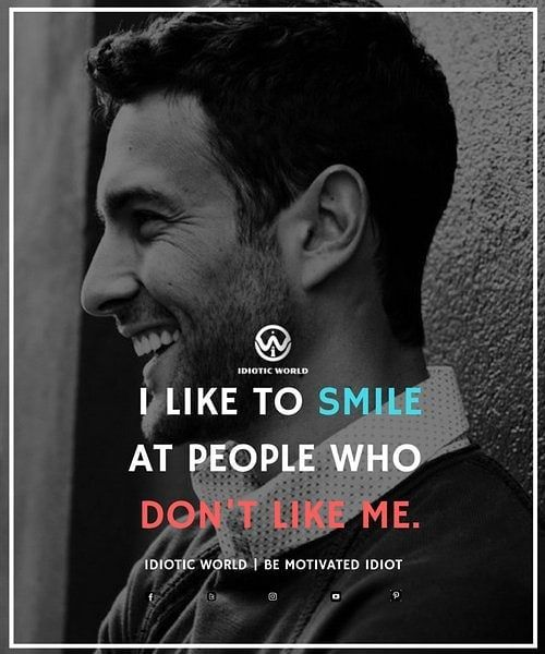 If you can't end their unfound dislike for you, then increase it ten+folds.... with a smile;
