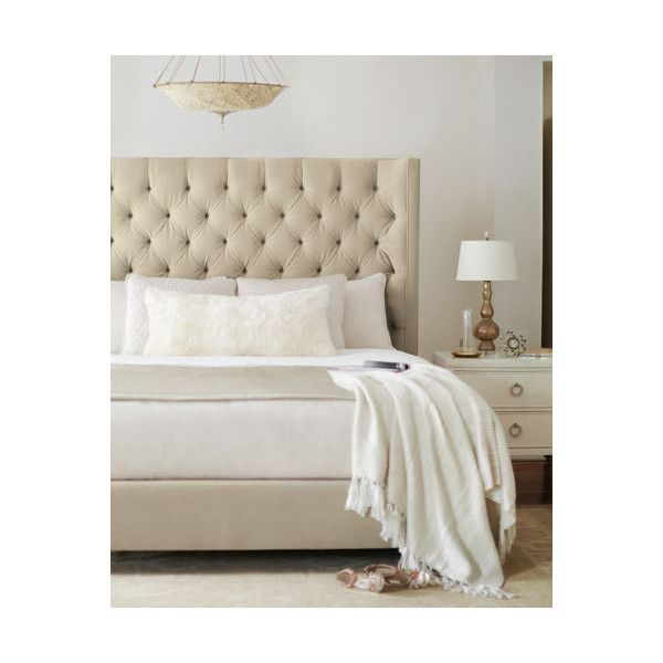 Bernhardt Audrey Tufted California King Bed ($2,699) liked ...