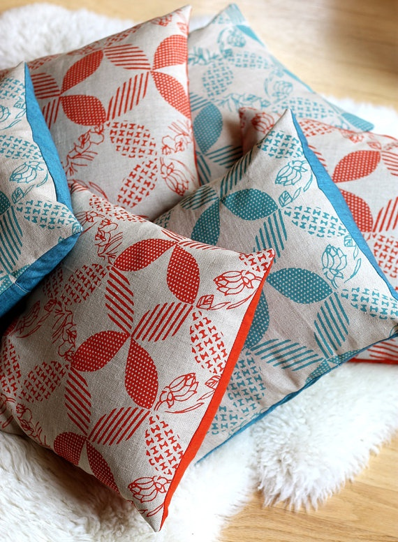 Anna Joyce hand printed fabric
