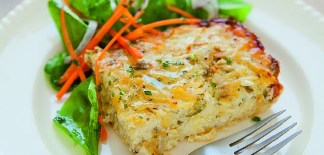 Grated potato casserole - Recipes - New Zealand Woman's Weekly