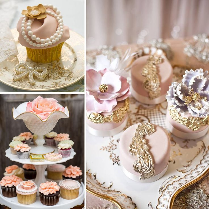 Çarpıcı cupcake tasarımları nişan ve düğün organizasyonlarına damgasını vuruyor.