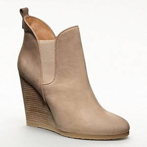 Shop online for the latest styles of womens booties. Cute booties in the most fashionable styles of the season available now. Qupid Shoes Cadence Perforated Peep Toe Booties in Nude CADENCEX NUTMEG. $ $ Blowfish Shoes Batik Wedge Booties with Wrapped Buckle Detail in Foggy BFFGYTOMB. $ $