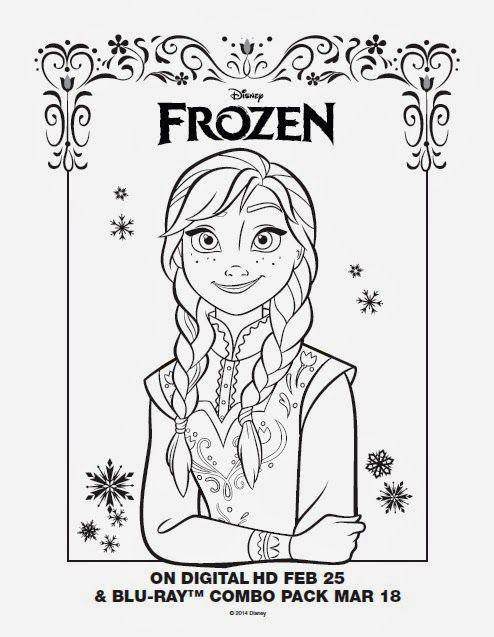 hm coloring pages frozen printable - photo#44