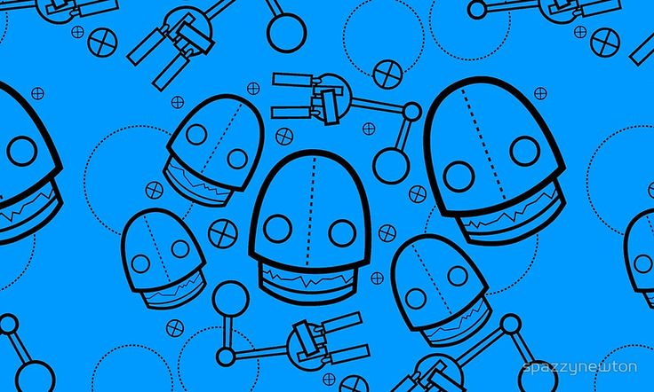 A different colored Spaztic Bots pattern available as #mugs, #travelmugs, #skirts, #totebags and #journals over at #redbubble!   #geeky #geek #fasion #style #robots #robot #scifi #sciencefiction #bots #spazticbots