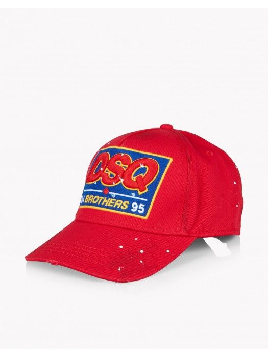 5cebccbb Dsquared2 Baseball Cap Red #dsquared #fashion #cap #headwear #spring #ss18  #outlet
