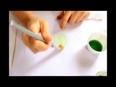 Complete video tutorial in japanese somebana technique - coloring silk leaves - YouTube