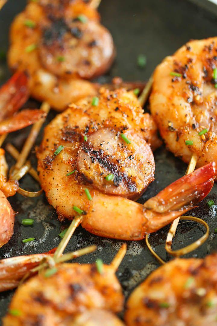 Cajun Shrimp and Sausage Skewers   Damn Delicious   Bloglovin'