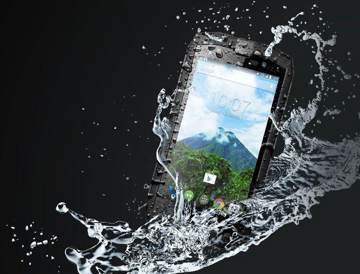 Un smartphone Outdoor 4G, doté d'un écran 5''HD renforcé