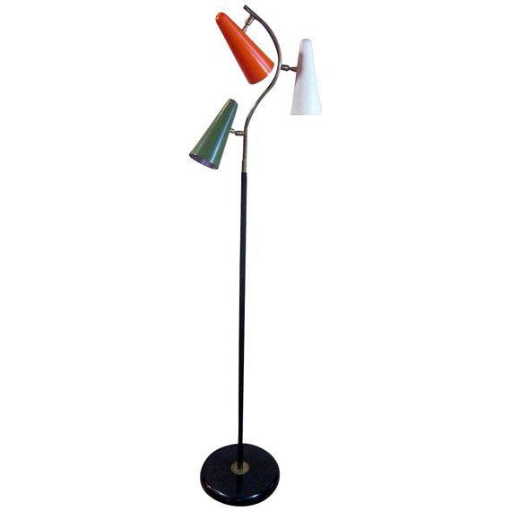 1950 S Italian Mid Century Multi Colored Floor Lamp Mid Century Modern Floor Lamps Floor Lamp Lamp