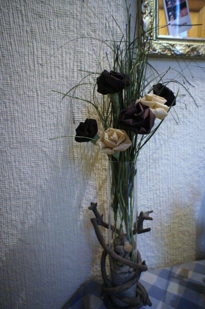 Como hacer flores de tela paso a paso. Muy sencillas de hacer y muy decorativas.