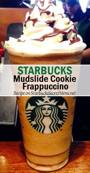 Starbucks Mudslide Cookie Frappuccino #starbuckssecretmenu Recipe here: http://starbuckssecretmenu.net/mudslide-cookie-frappuccino-starbucks-secret-menu/