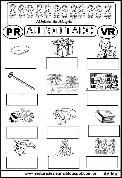 autoditado-PR-VR-alfabetizacao-imprimir-colorir.JPG (464×677)